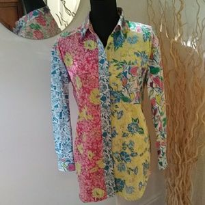 LILLY PULITZER BLOUSE SIZE SMALL